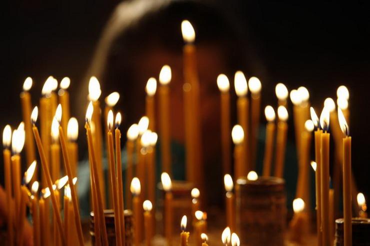 траурные картинки похороны