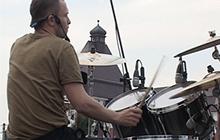 В Гусеве строительство православного храма поддержали масштабным рок-концертом