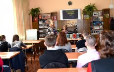 В рамках Областной конференции в Гусевской библиотеке для студентов политеха работала интерактивная площадка