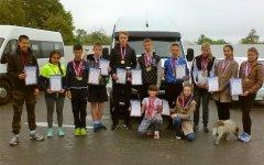 Гусевские спортсмены приняли участие в областном первенстве по легкой атлетике в Светлогорске