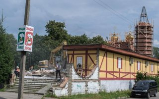 Администрация Гусева не намерена изымать землю под снесенным зданием «Березки»