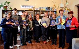 Поэтесса Галина Савенкова провела в городской библиотеке мастер-класс