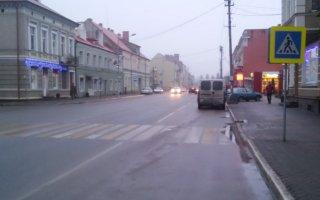 На улице Московской автомобиль «Дэу Эсперо» сбил 46-летнего пешехода