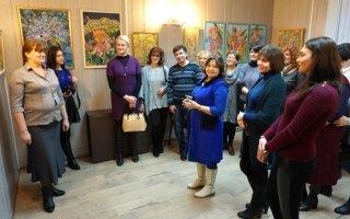 В Калининграде в Областном доме народного творчества проходит персональная выставка преподавателя ДШИ