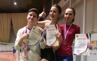 Гусевские спортсмены заняли 8 призовых мест на областном чемпионате по лёгкой атлетике