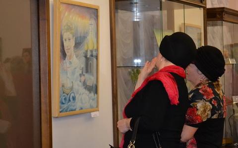 В городском музее состоялось открытие выставки гусевских художников «Отражение души»
