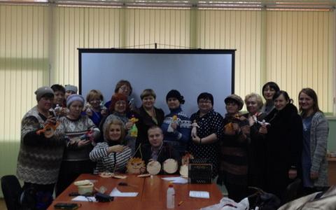 Гусевские деятели культуры посетили с лекцией посёлок Михайлово