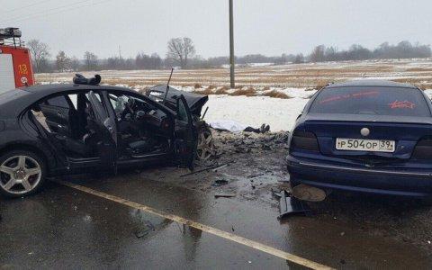 В отношении водителя «Мерседеса», выжившего в аварии на трассе Гусев — Нестеров, возбудили дело