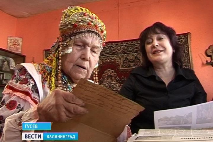 Бабушка из Гусева стала звездой интернета