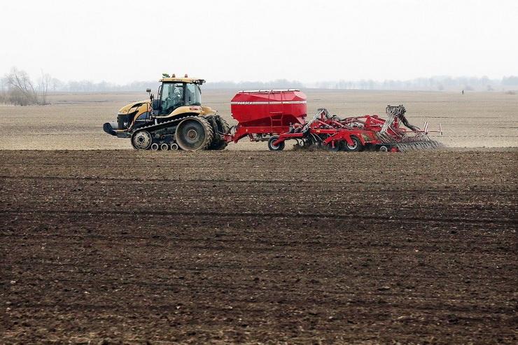Областные аграрии начали подкормку озимых посевов