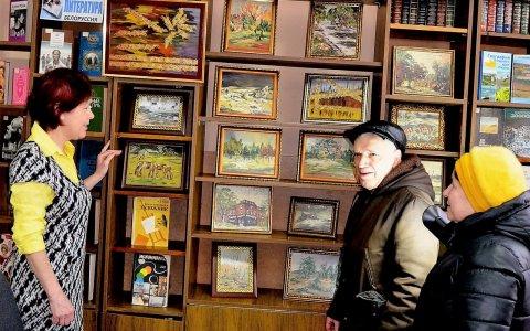 Городская библиотека приглашает на выставку картин художницы Печуриной Е.А. «Природы вечное дыхание»
