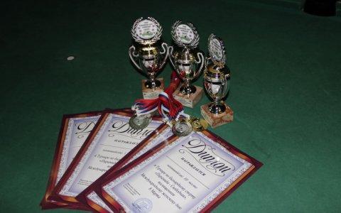 В бильярдном клубе «Пирамида» прошел очередной турнир по бильярду