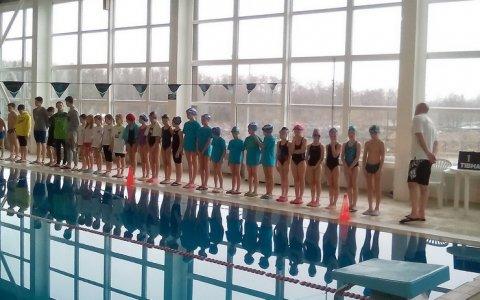 Гусевские пловцы приняли участие в открытом турнире «Юный пловец Балтики»