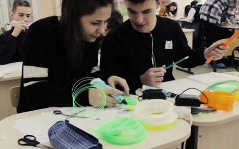 Команда ДЮЦ успешно осваивает 3D технологии
