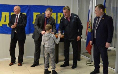 Представители фракции ЛДПР наградили юных спортсменов